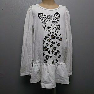 Gymboree long sleeve cheetah kids shirt size 7